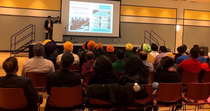 "Virginians Fascinated by ""Captivating the Simple-Hearted"" at George Mason University"